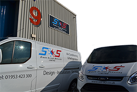 Simon Oliver Services, Vans and Unit